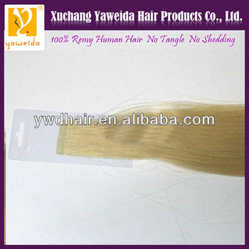 High Quality Double Drawn Invisible Tape Hair Extensions