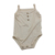 Organic Bamboo Cotton Newborn Baby Clothes Sling Design Toddler Romper