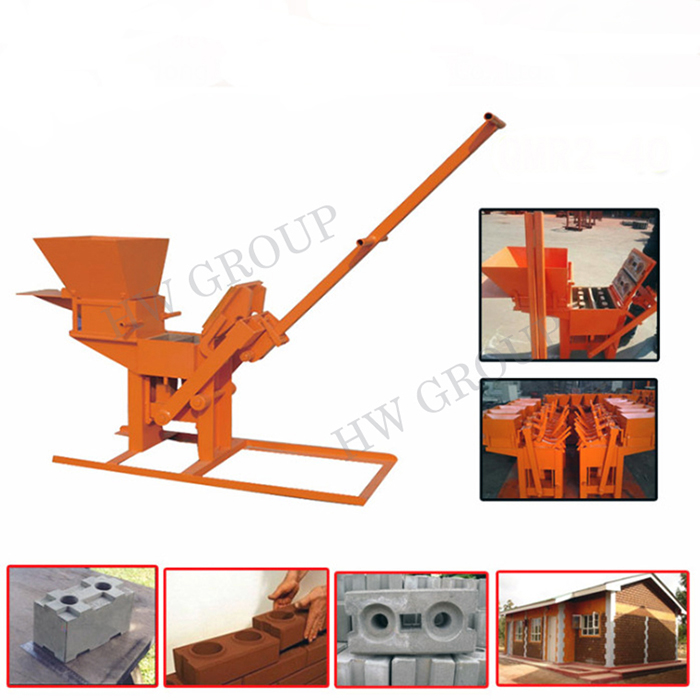 Low price concrete hollow blocks making machine/making concrete block machine/block molding