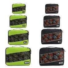 Дорожная сумка Soperwillton для мужчин и женщин, мужская и женская, 210D, полиэстер, 3, 4, 6, 8 шт., упаковочные кубики, органайзер для багажа для путешест...(Китай)