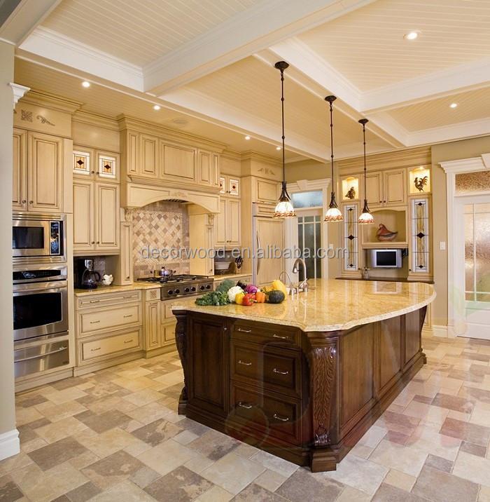 antiquariato di lusso bianco dispensa della cucina mobili da ... - Cucina Di Design Armadio Di Lusso
