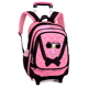 Child Trolley Student Bag school bag waterproof bag
