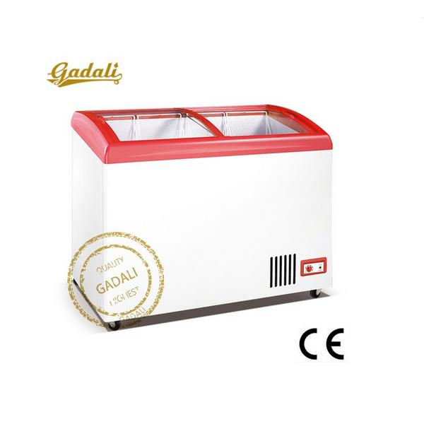 Sıcak Satış Mini Dondurma Teşhir Dolabıkullanılan Mini Buzdolabı