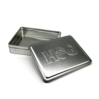 team badge tin box for cookie gift packaging metal souvenir tin box Tip price iron box