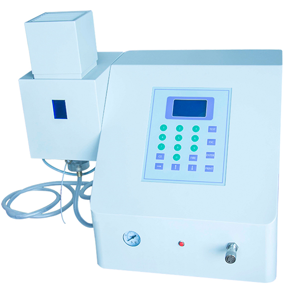Automatic flame ignition F-100 flame photometer