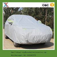 disposable plastic car cover non woven car cover large size universal anti rain dust snow plastic car cover