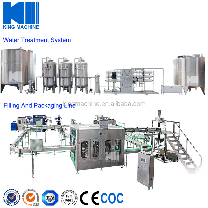 Bottled Spring Water Filling Production Line