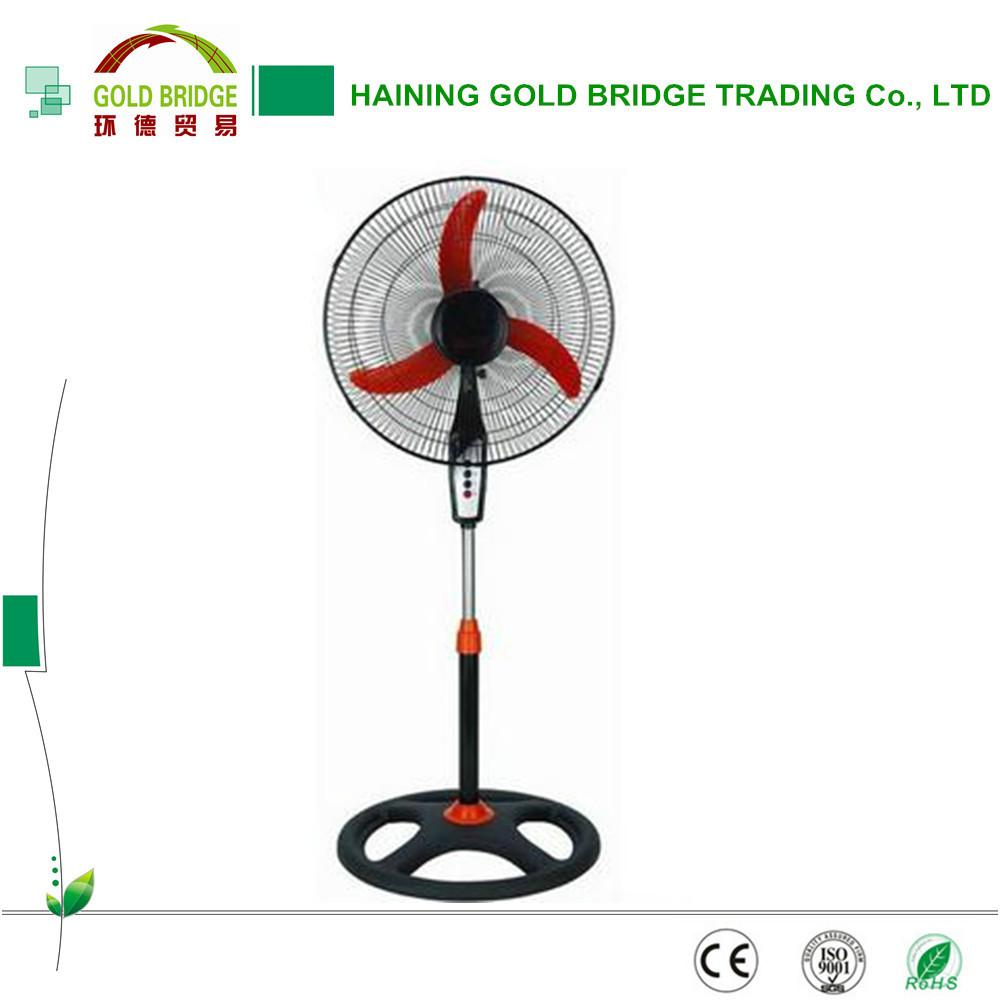 China Supplier 16 Inch Solar Power Fan Solar Fan For Home