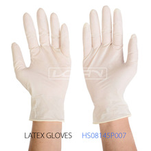 16pcs Top glove latex gloves cheap latex examination gloves prices