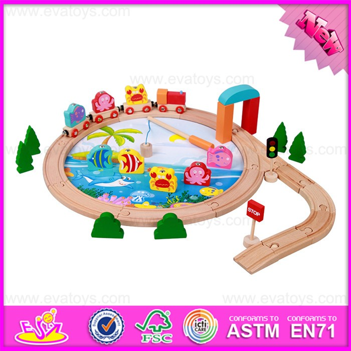 new design funny wooden toy cars and tracks for kids W04C051