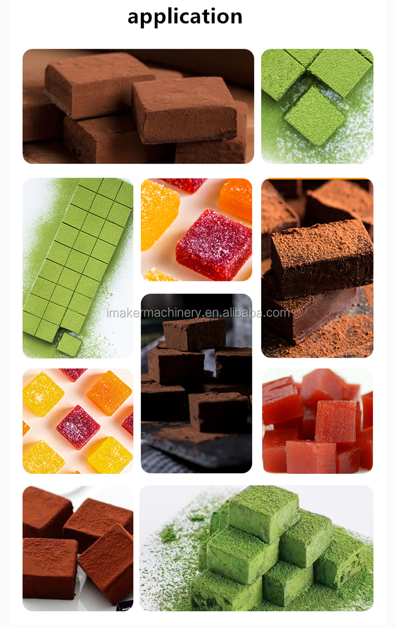 manual chocolate truffle  Turkish delight cutter