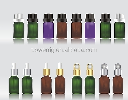Glass bottle essential oil filling machine 60ml