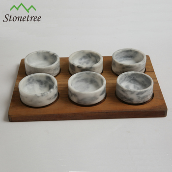 Natural Marble Stone Kitchenware Accessories With Wooden Bases - Buy Marble  Kitchen Accessories,Stone Kitchenware Accessories,Stone Marble Kitchenware  ...