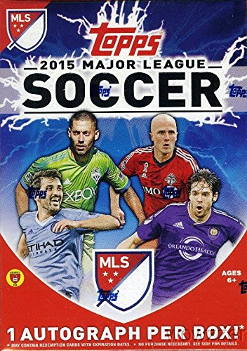 2015 Topps MLS Soccer EXCLUSIVE Factory Sealed 16 Box CASE with 16 Authentic Topps Hand SIgned AUTOGRAPHS Cards ! Super Hot !