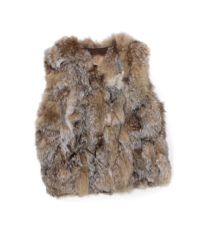 e5c4e897721fd Bergama 810375 New Natural Lynx Fur Sections Vest Jacket Coat Stroller 12
