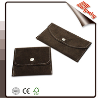 High quality handmade fabric wallet velvet bags with button