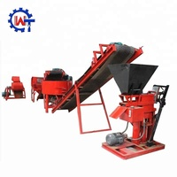 New WT1-25 clay brick in spain making machine clay brick machine small
