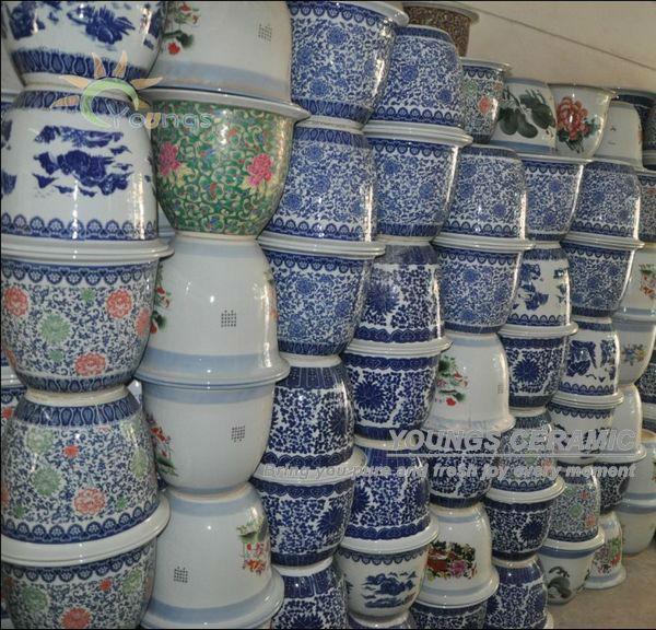 Chinease extractor y tama o grande maceta de cer mica Macetas ceramica online