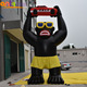 Black gorilla inflatable chimpanzee model inflatable model animal for advertising