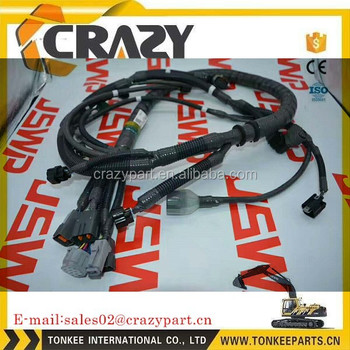 4hk1 engine wiring harness 6hk1 wire harness 4658146 8-98002897-7 for zx210-