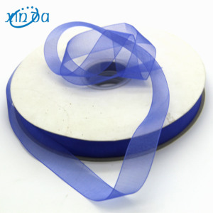 Factory Direct Cheap Colorful Christmas Mesh Ribbon