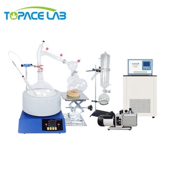 USA Lab Equipment 2L 5L 10L 20L Distillation Kit Price Short Path  Molecular with Chiller and Vacuum Pump