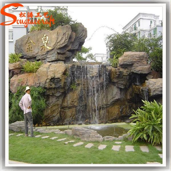 Gran dise o de imitaci n de m rmol bronce fuente de agua for Diseno de fuente de jardin al aire libre