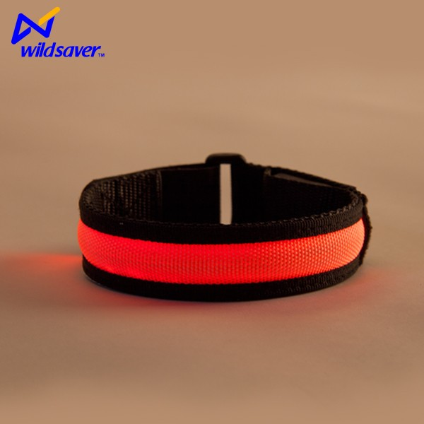 Glowing flashing led wristbands stick bracelet