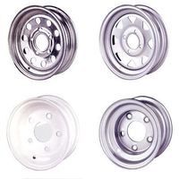 Supply trailer wheel rim scooter wheel rim wheel rims 13 inch for sale