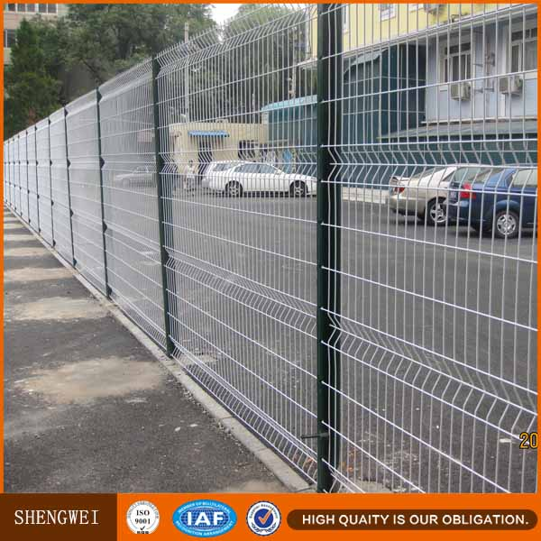 Metal Garden Decorative Curved Welded 3d Wire Mesh Fence Panel - Buy ...