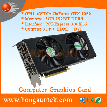 OEM NVIDIA GeForce GTX1060 3GB GDDR5 PCI Express 3.0 Direct X12 VGA Card for Cryptocurrency Mining Farm