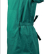 Green Lab Coat and Long Gown Hospital Medical Scrub Suits Clothing for Unisex Uniforms