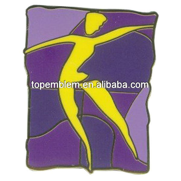 Dancing Lapel pin