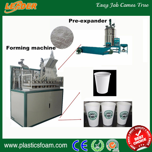 Automatic High Quality Disposable Eps Foam Cup/bowl/tray EquipmentHigh Quality Eps Foam Cups Making Machine