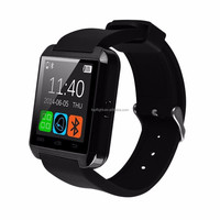 China 1.54'' W8 Touch Screen BT Smart Watch For Android Samsung Smartphone Black Red White