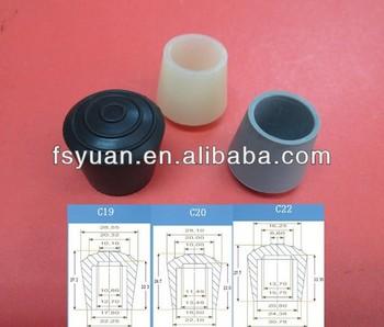 16 19 20 22 25 32 40mm Silicone Rubber Chair Leg Feet Caps