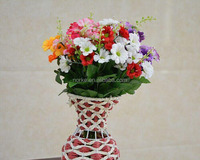 new style wedding red artificial flower bouquets