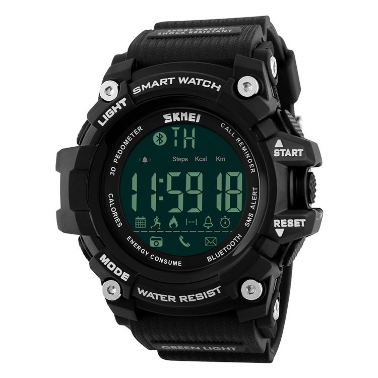 SKMEI 1227 bluetooth watch manual saat erkek orologi relojes al por mayor de marca smart health watch