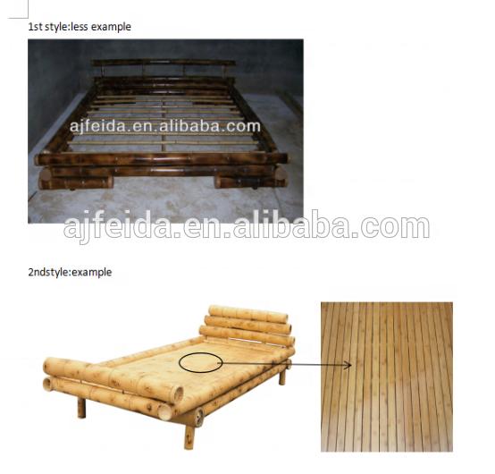 natural bamboo bed