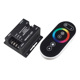 Touch Multi zone RF wireless remote rgb controller 12Volt for LED 5050 RGB LED Module