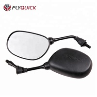 ZF001-114 FLYQUICK motorcycle body plastic parts back mirror for LIBERO 125 YBR125 JYM250