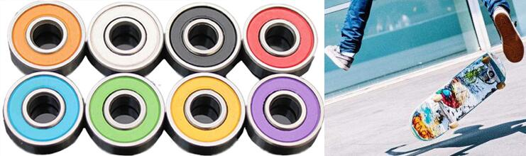 Factory supply ready stock colorful deep groove 608 ball bearing