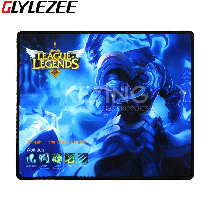 Razer Mouse Pad Gaming Mouse Mat LOL League of Legends Style 250 300 3mm Size for
