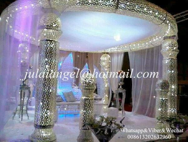 V nement de mariage mandap pilier d coration mandap for Fournisseur decoration