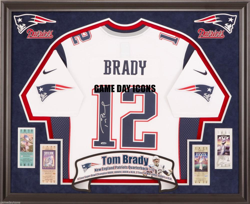 san francisco 8e9e7 41eec Tom Brady Luck Ect. Custom Frame Your Nike,Reebok Autographed Jersey Deluxe  Nfl - Buy Jersey Display Frame,Custom Wooden Frames,Photo And Jersey Frame  ...