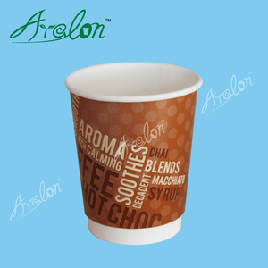 Promotional beer tin disposable paper cups