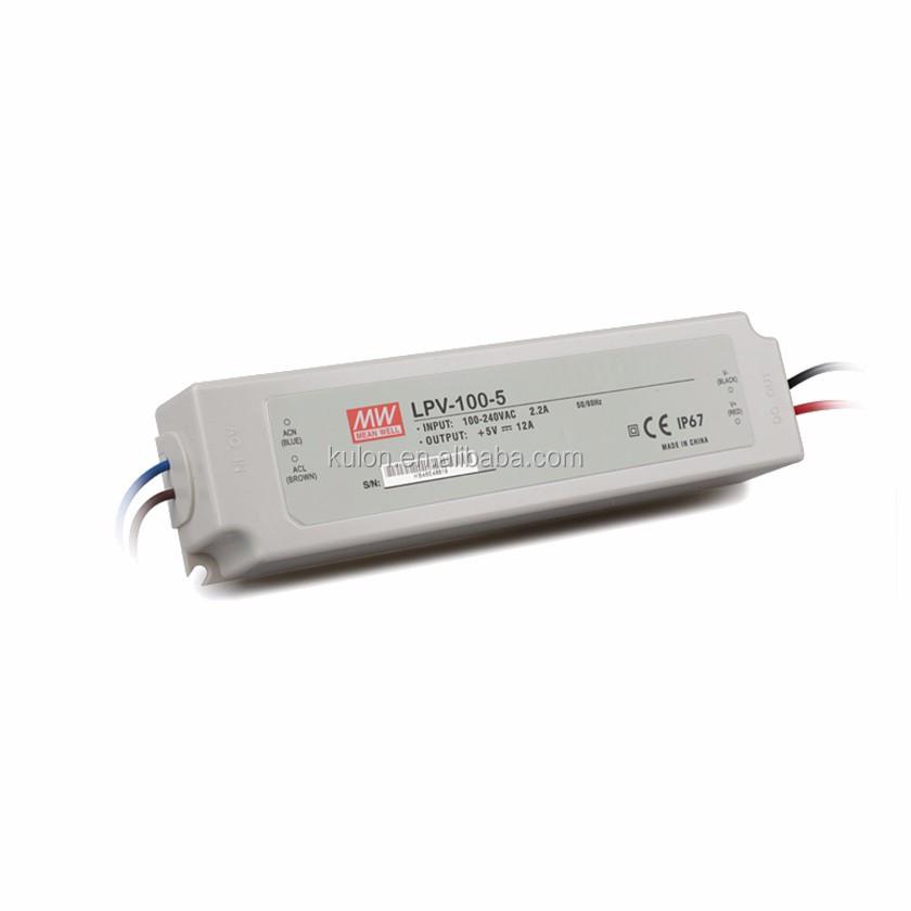 LED Alimentation 100W 36V 2,78A ; MeanWell LPV-100-36