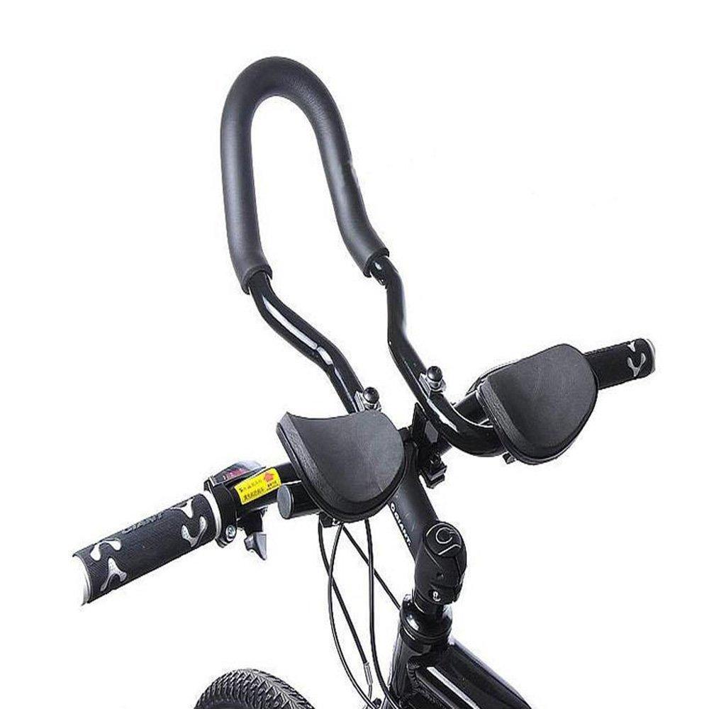 EverTrust(TM)Mountain Road MTB Bike Bicycle Aluminum Alloy Triathlon Aero Rest Bar Relaxation Cycling Handlebar