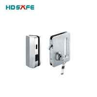 Double side door control high quality sliding glass door lock for glass door
