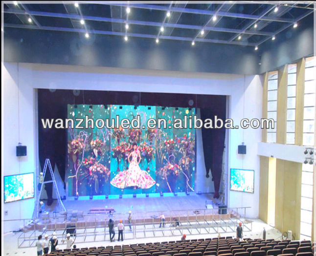high resolution vido show indoor stage led display